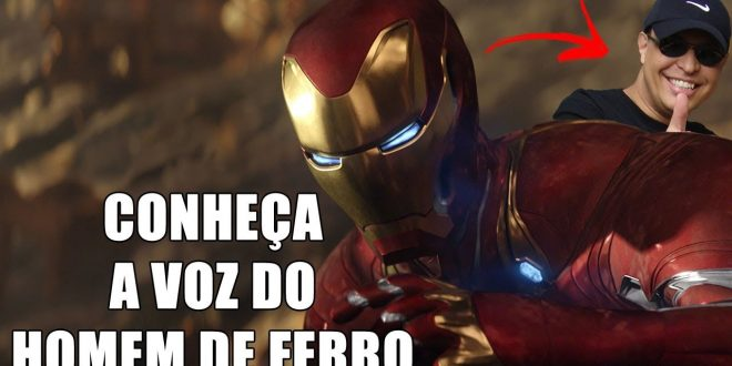 Entrevistamos Marco Ribeiro, dublador do Homem de Ferro no cinema