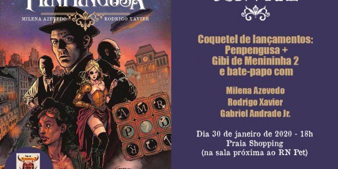 Graphic novel Penpengusa será lançada nesta quinta em Natal